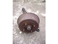 FREE Austin Rover British Leyland Mini hub brake drum axle