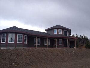Beautiful Ocean Front home sitting on large lot near Clarenville