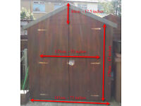 Wooden garden shed in good condition