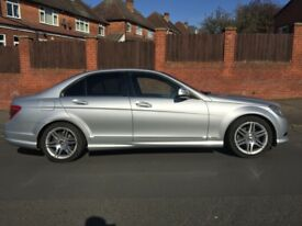 Mercedes C220 AMG Sport Auto CDI with 75k miles FSH