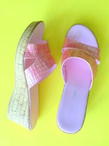 Italian Ladies Shoes Flip - Flops Size 7; 7,5 Women's