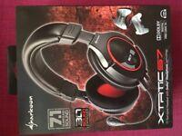 Sharkoon 7.1 gaming headset xtatic S7