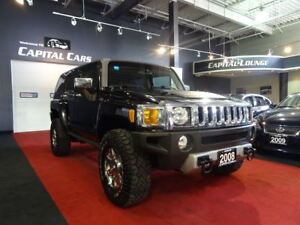2008 Hummer H3 4X4 / SUNROOF / CHROME RIMS