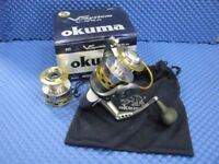 Reel OKUMA V SYSTEM V-65A Spinning Reel - NEW - Half price