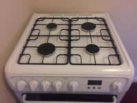 Hotpoint Gas Double Oven and Hob