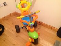 Used smart trike in good condition - unisex colours 3 in 1