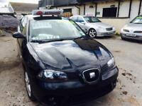 Seat Ibiza 1.9TDI 100 2008MY Sport Metallic Black Diesel 3 Door