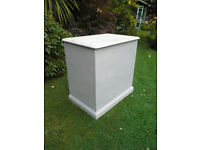 Solid Pine shabby chic deep chest