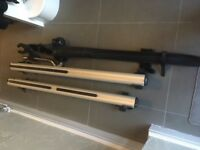 MONT BLANC car roof bars for a Volvo C30