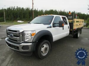 2015 Ford Super Duty F-550 XLT Crew Cab 4x4 - 34,196 KMs, 6.8L