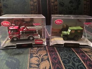 Disney cars red and sarge rare die cast price to sell