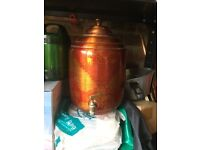 Copper Water Pot Dispenser With Tap
