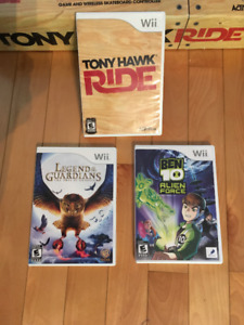 Jeux Wii : The Legend of Guardians et Ben 10