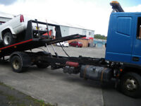 vehicle recovery business for sale with contracts, website,email, & telephone, very busy.