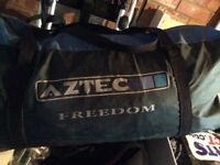 Aztec freedom 6 man tent, just poles and outer tent
