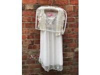 Girls (8yrs) Bridesmaids Dress and Cardigan/Shawl - John Lewis