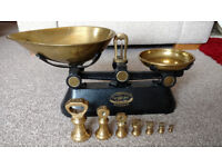 Retro vintage scales made by the F J Thornton Co Ltd