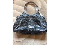 Black Damask Diaper Bag by JJ Cole Collection