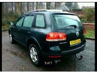 VW Touareg 53/plate,2,5 TDI-estate,4×4 very rarely 6speed manual gearbox,100k mileage!!!
