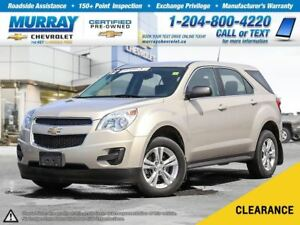 2012 Chevrolet Equinox LS *Accident Free, Climate Control, OnSta