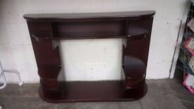 Retro mahogany fire surround £25 CHEAP local DELIVERY Stalybridge SK15 2PT