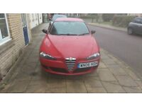 Alfa Romeo 147 1.6, long MOT, recent work done have all receipts over £500