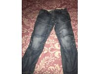 G star men's jeans excellent condition size 36w 32L midd colour blue