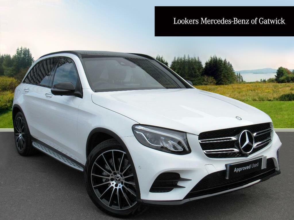 mercedes benz glc class glc 350 d 4matic amg line premium plus white 2017 04 06 in crawley. Black Bedroom Furniture Sets. Home Design Ideas