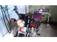 Yamaha 125 SR - MOT fail - for spares or repair- readvertising due to time wasters