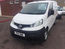 2011 nissan nv200 new cambelt and water pump and 12 months mot only £4495 no vat