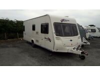 BAILEY PAGEANT S6 BURGUNDY TOURING CARAVAN
