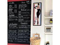 Nouvelle delicatessen - waitress wanted