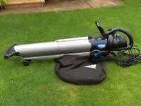 Macallister 3000W leaf blower and vac