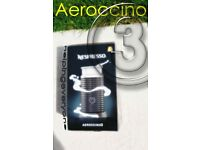 Nespresso ☕️ Aeroccino 3 Milk FROTHER GOURMET CAPPUCCINO COFFEE FROTH HOT CHOCOLATE 🥛