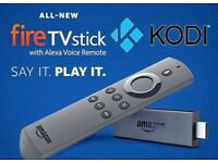 New Amazon Firestick with Alexa