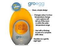 2 GRO EGGS - Digital Nursery Room Thermometer