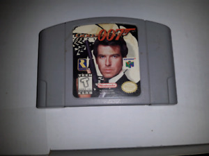 """N64 007 GOLDENEYE CART ONLY """"TESTED WORKS GREAT"""""""