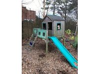 Childrens Wooden Outdoor Play House