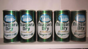Wanted - Anything Niagara Dry Ginger Ale - $$$ Paid