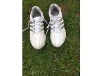 Callaway junior golf set and shoes