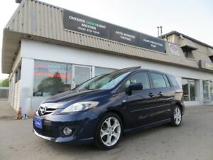 2008  MAZDA5 GT, LEATHER,SUNROOF,ALLOYS, FOG LIGHTS,BLUETOOTH