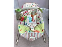 Fisher Price Happy Forest Animals Bouncer, very good condition.