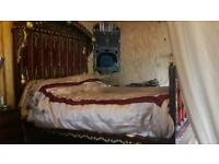 Bed Gypsy caravan