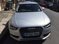 Silver Audi A4 TDI estate - excellent condition, FSH, leather seats, sat nav, alloys