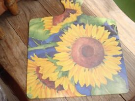 Sunflower Chopping Board