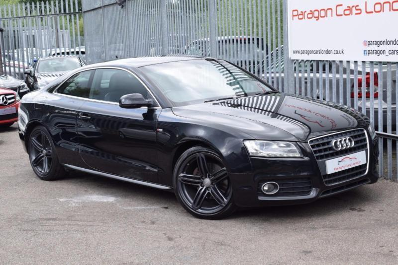 2009 audi a5 coupe 2 0tfsi 180 s line mt7 petrol black cvt in watford hertfordshire gumtree. Black Bedroom Furniture Sets. Home Design Ideas