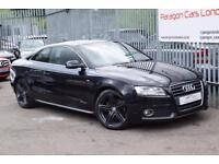 2009 Audi A5 Coupe 2.0TFSi 180 S line MT7 Petrol black CVT