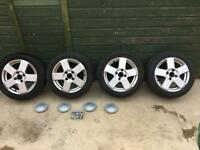 Fiesta alloy wheels