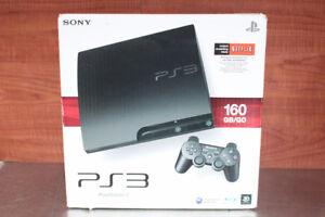 Console PS3 160Go dans sa boite originale