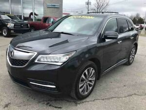 2014 Acura MDX Tech Pkg FULL 7 PASSAGERS  WOW